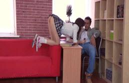 Sexo anal con su cuñado el profesor